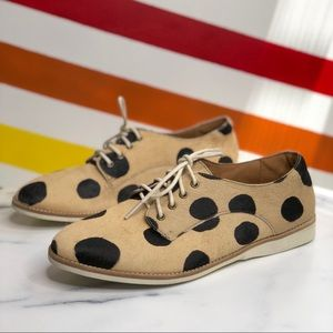 Rollie derby polka dot oxfords size 39